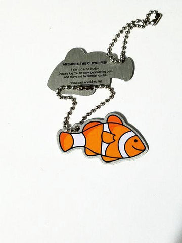 Anemone the Clown Fish Travel Tag