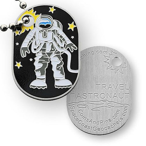 Travel Astronaut Travel Tag