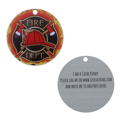 Firefighter Trackable Tag