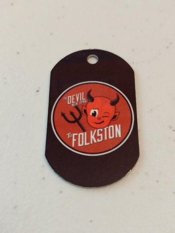 Devil Went Down to Folkston Personal Munzee Tag