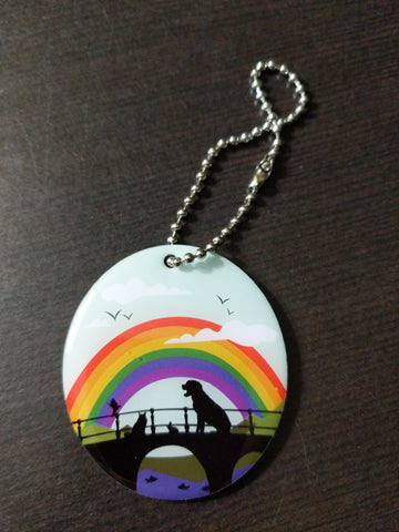 Furever Friends Travel Tag - Rainbow Bridge