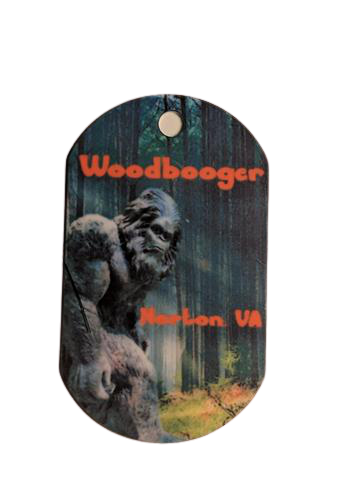 Woodbooger aka Big Foot Personal Munzee Tag