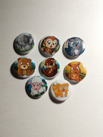 9 Pack of Buttons