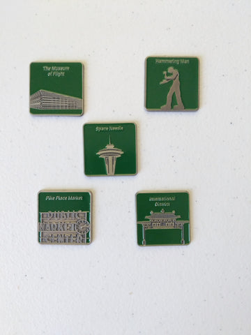 Seattle landmark gcmini set of 5