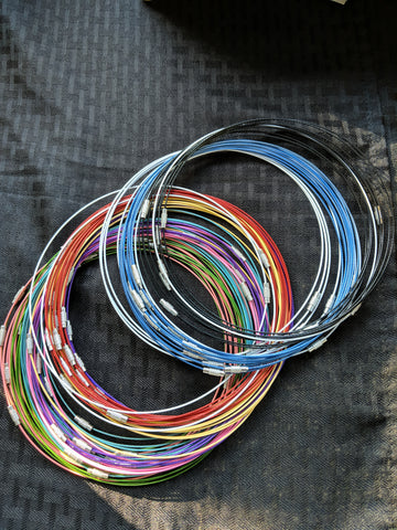 Colored pathtag wire