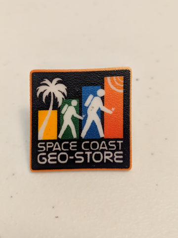 Space Coast Geo Store Logo Hat Pin