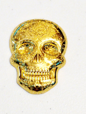 All Soul's Day Geocoin Day of the Dead - Gold
