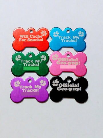 Dog Bone Trackable Tag