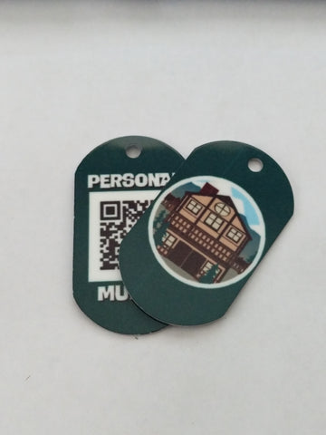 Timeshare Personal Munzee Tag