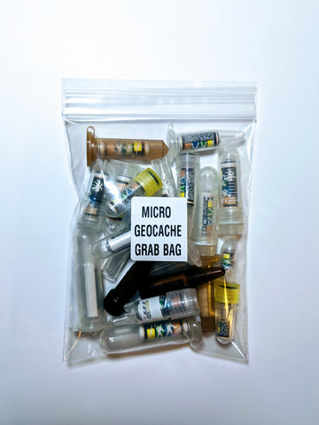 Micro Geocache Container Grab Bag