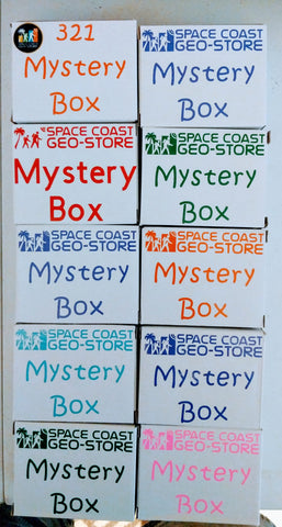 Space Coast Geo Store Mystery Box