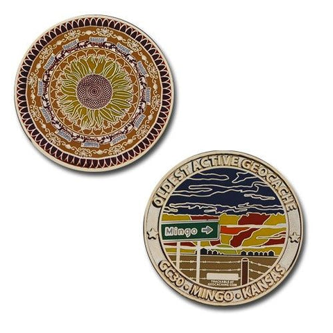 Mingo - Oldest Active Cache Geocoin