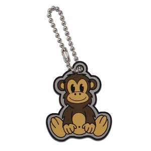 Monkey Cachekinz Travel Tag