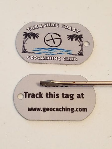 Treasure Coast Geocaching Club Personal Tag