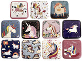 Square Unicorn Tin with Munzee Stickers