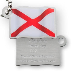 Travel flag tag
