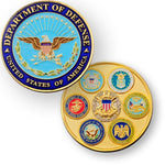 DOD Geocoin - Department of Defense