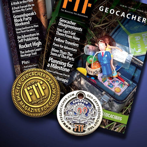 FTF Geocacher Magazine - Back issue 2010-2015