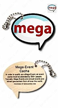 MEGA event Travel Tag