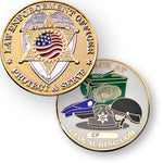 Law Enforcement Geocoin