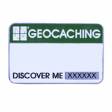 Trackable Name Tag Geocoin