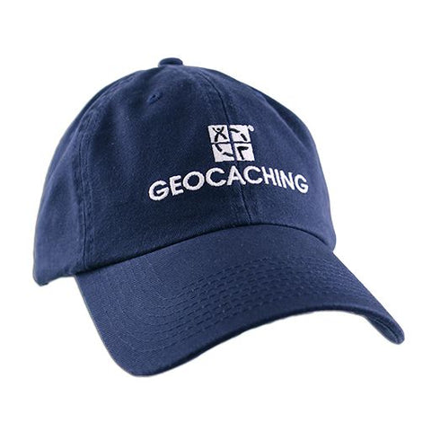 Geocaching Logo Cap- Navy