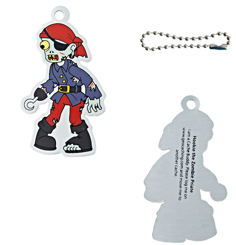Hookie the Pirate Travel Tag