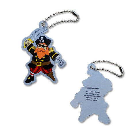 Captain Jack Travel Tag