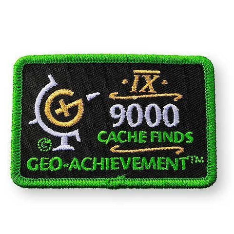 Geo-Achievement® Patch Cache Finds