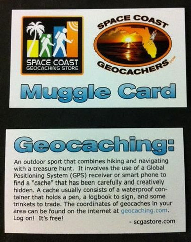 Geocaching Muggle Card 10 Pack