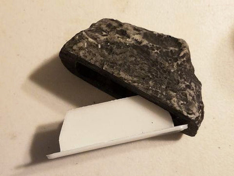 Hide-a-Key Rock Container With Bison Tube Geocache