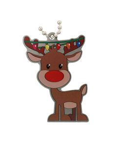 Festive Collection- Reindeer Travel Tag