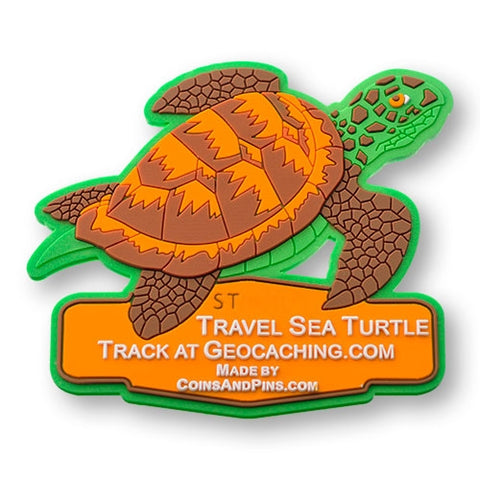 Sea Turtle Travel Tag - All Weather
