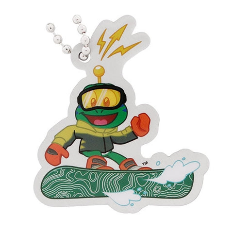 Snowboarding- Signal the Frog® Winter Sports Travel Tag