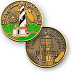 St Augustine Lighthouse Benchmark Geocoin