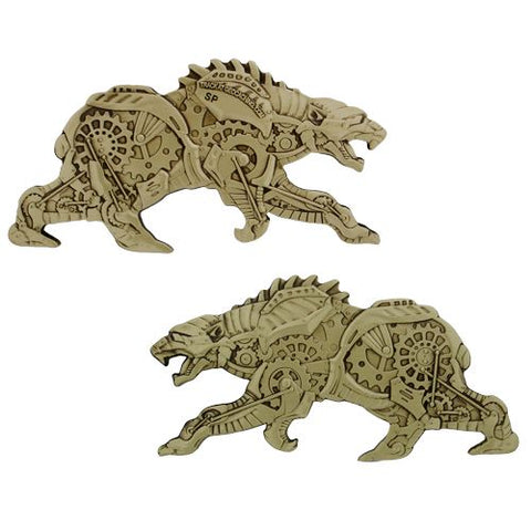 Polar Bear Steampunk Geocoin