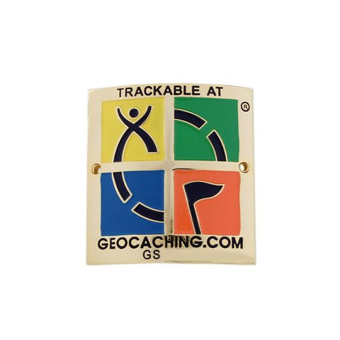 Trackable Hiking Stick Medallion