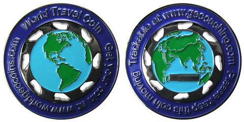 World Travelor Geocoin