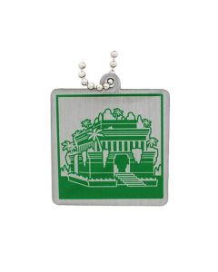 Ancient Wonders of the World Trackable Tag- Hanging Gardens of Babylon