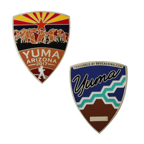 Yuma Mega Event Geocoin Nickel