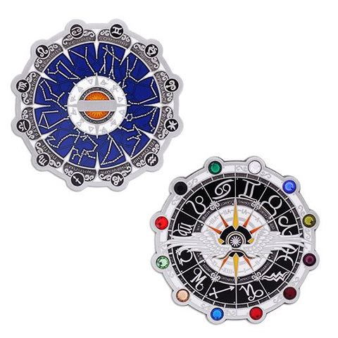 Zodiac Geocoin and Tag Set