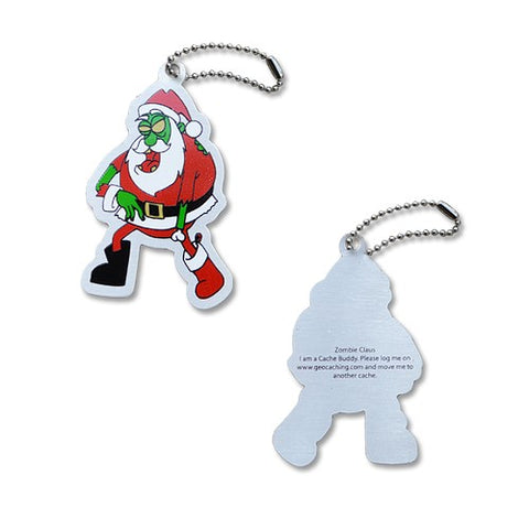Claus the Zombie Travel Tag