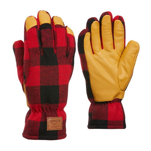 Timber Wool Blend Gloves Men - 4 Colours