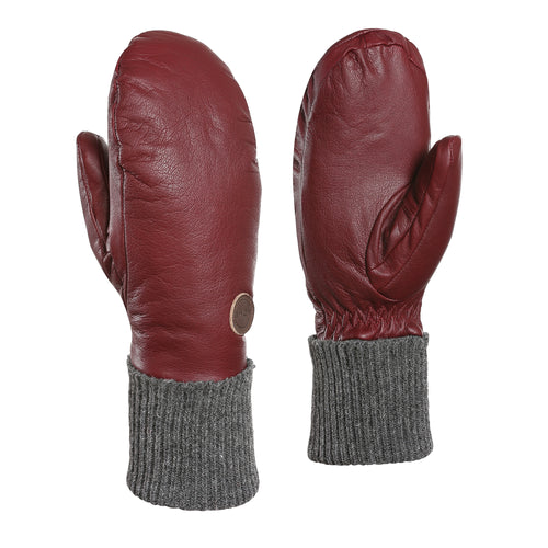 Rolly Leather Mittens Women - 3 Colours