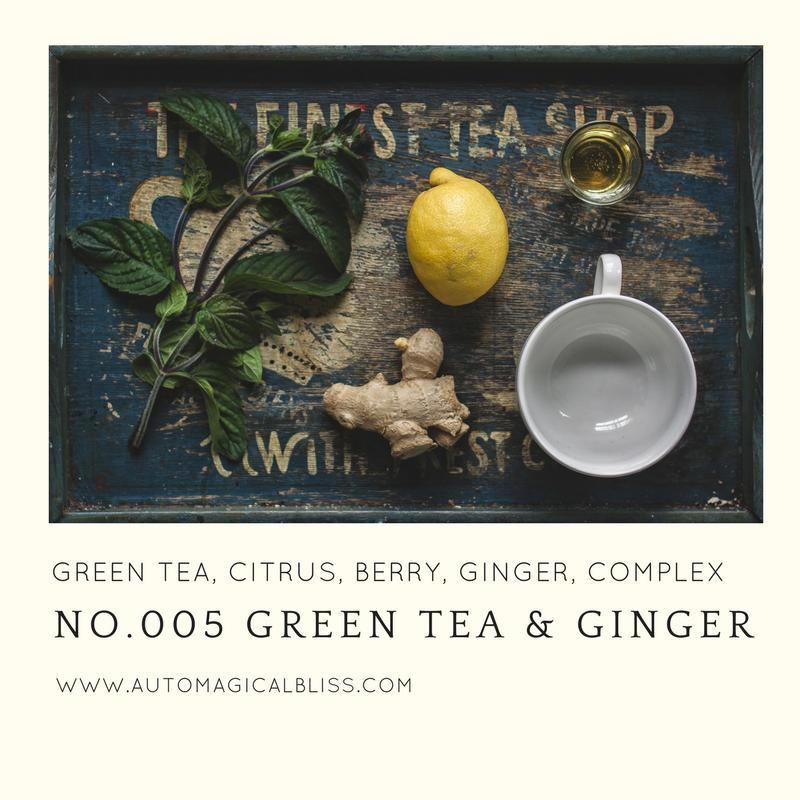 No. 005 - Green Tea and Ginger