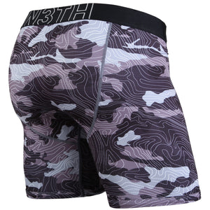Entourage Boxer Brief - Topo Camo Black