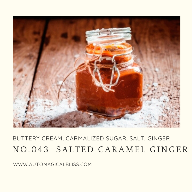 No. 43 - Salted Carmel Ginger (Christmas Scent)