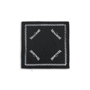 CHAIN BANDANA - BLACK