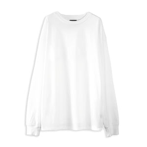 STEREO PREMIUM BASIC LONG SLEEVE TEE - WHITE NOISE