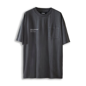 PROCESS POCKET TEE - STATIC BLACK